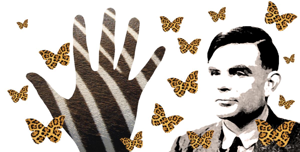 Alan Turing na palma damão