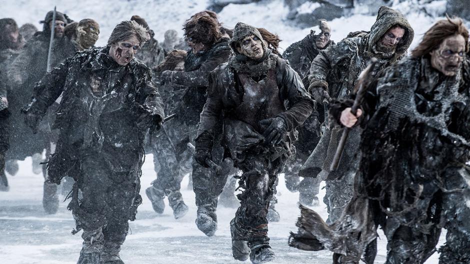 O inverno está aqui: os mortos-vivos do mundoreal