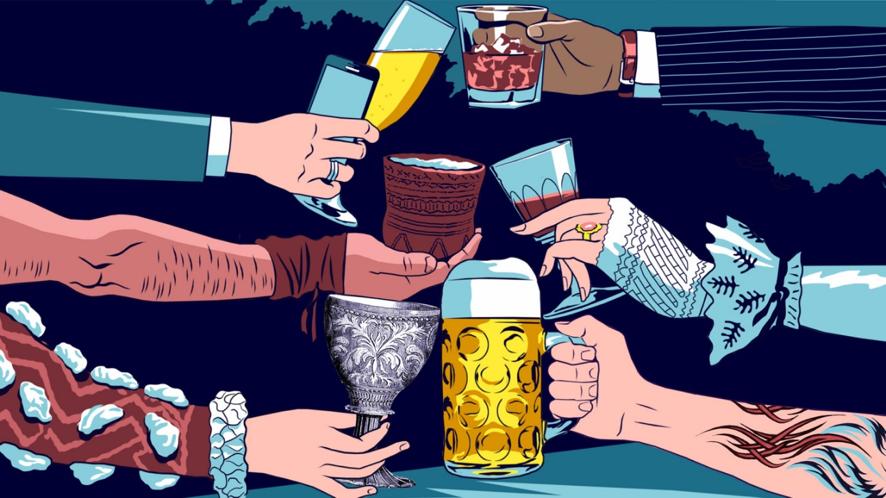 Cerveja, civilização egenes